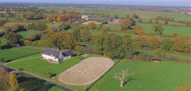 Normandy - Saint Lo Region - Equestrian Property