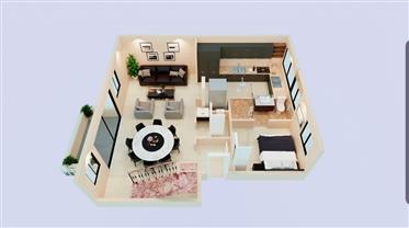 """דירה : 137 מ""""ר"""