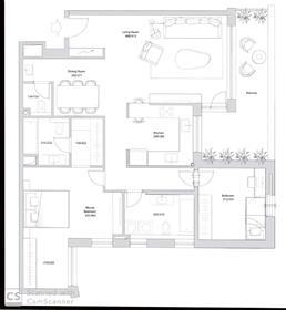 """דירה : 115 מ""""ר"""
