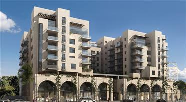 New exclusivity 2-room apartment in the prestigious HaNeviim Court Residence project in the city cen