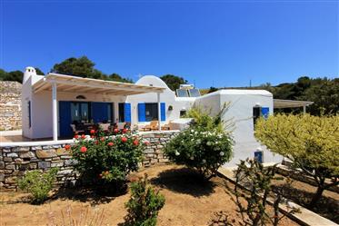 Golden beach villa with breathtaking view