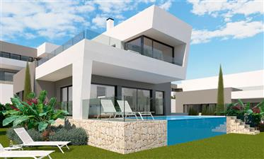 Luxury villa with excellent sea views in Polop, Costa Blanca North, Alicante, Spain