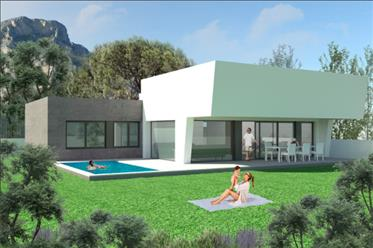 Luxury villa with great sea views in Polop, Costa Blanca North, Alicante, Spain