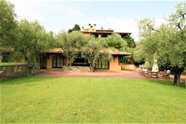 Villa con piscina e vigna alle porte di Firenze