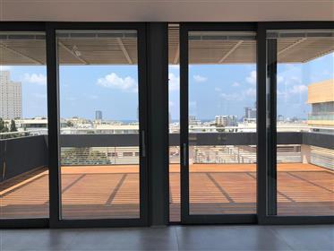 Duplex-Penthouse - Rothschild - Vue Mer