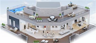 Престижное жилье : 250 м²