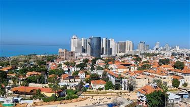 מתחם אליפלט - דירה מדהימה עם נוף פתוח לכל תל אביב ולים
