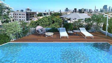 Project - Luxury Penthouse With Pool - Blvd Rothschild