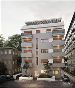 Projet - Penthouse - Rue Calme - Rothschild - 5 Pieces