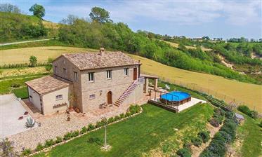 Cozy Farmhouse in Northern Marche