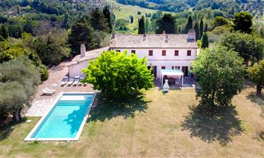 Luxury Home With Pool In Private Setting Near Pesaro, Le Mar...