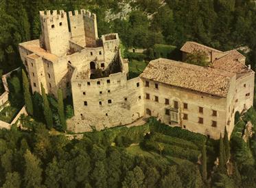 Castle from the 12th Century near Lake Garda