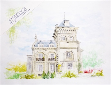 19Th century chateau with outbuildings, swimming pool on 6ha39a of enclosed park