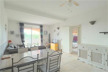 2 bedroom flat with open view on the Golf course and the countryside