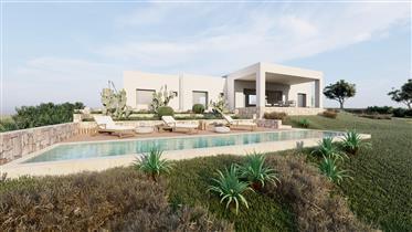 Villa vista mare con piscina da realizzare a Carovigno