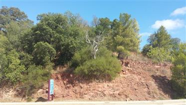 Algarve - S. B. Messines - Plot for sale with an project approved for a nursing home with a swimming