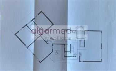 Algarve - Algoz - Land for sale with an approved project for a 3 bedroom villa