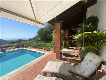 Villa vista mare con piscina
