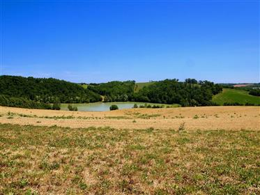 Ancient Watch-Tower, Private lake, 60 hectares of land - 40 hectares of woodland