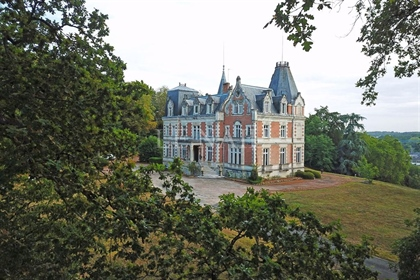 Imposing 19th C. Chateau at the gates of Tours