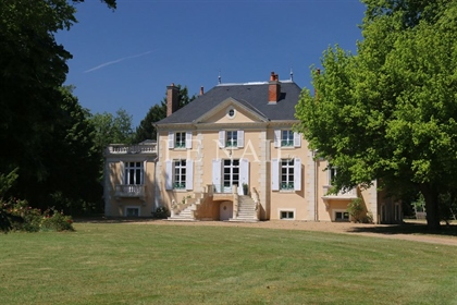 Charming chateau in Sarthe department