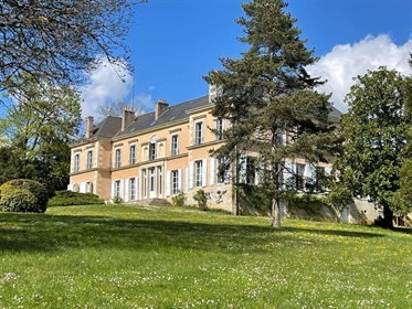 Beautiful french chateau from the early 19th century for sale in Poitou region.