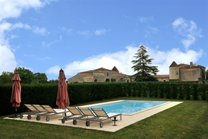 Beautiful listed chateau for sale in Poitou-Charentes.