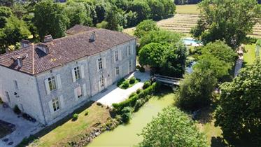 Italian style country house on 23 acres
