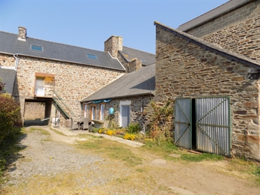 Plenee-Jugon - Stone house 4 bedrooms on a beautiful wooded ...
