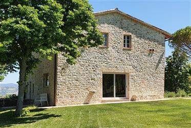 Splendido Casale In Pietra - Podere Il Faena