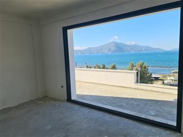 Sea view apartment for sale in Radhime beach, Vlore
