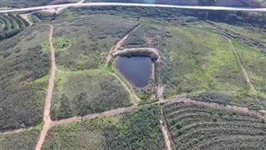 4 lotes de terreno, 23 hectares Mexilhoeira Grande desenvolvimento do turismo rural