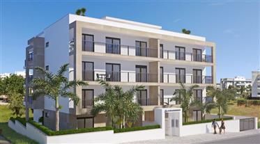Appartement, luxe, 3 chambres, en construction, plage à pied, box garage