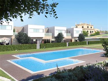 Moradias contemporâneas de três quartos, piscina, praias, Ferragudo