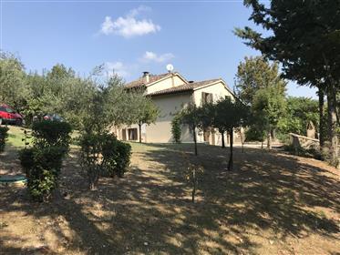 Villa inside the Furlo Park