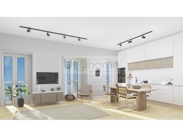 2 bedroom apartment to Martim Moniz fully refurbished