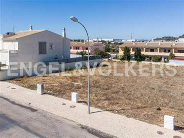 Building Plot in Residential Area Algoz