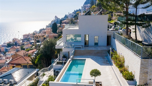 An awesome villa divided into four apartments, one for each ...