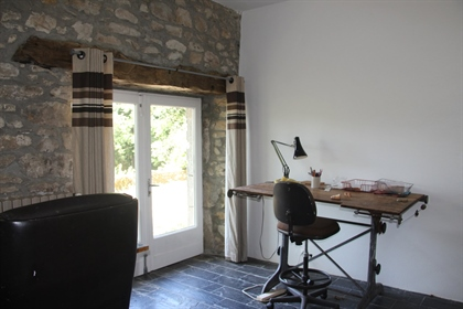 Set in the heart of the Parc Naturel du Haut Languedoc, surrounded by 42 ha of prairie and forest, t