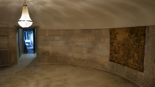 Built on the foundations of a building from the Middle Ages, which can be found in the basement, thi