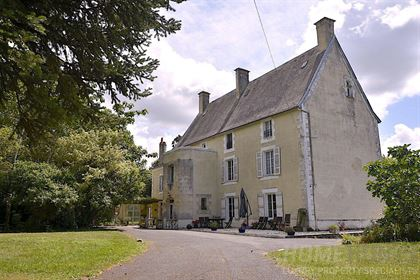 This lovely chateau is set in an elegant village and currently run as a luxury chambres d& 039 h&oci