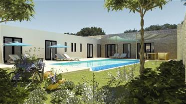 Villa 200m² Jardin 1129 m²