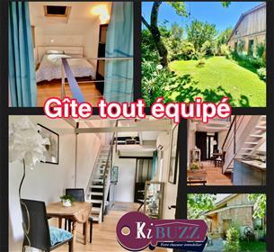 Magnifique maison de village avec jardin & gîte