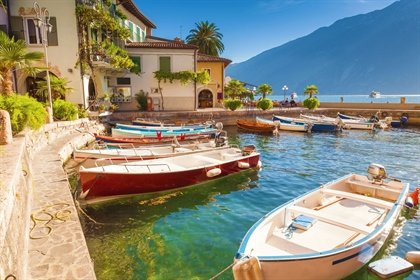 Lake Iseo - Brand New Villa Directly on the Lakefront With Swimming Pool and Boat Harbour