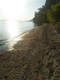 Seaside plot for sale 5500 sqm in Koropi, Pelion