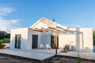 Single storey house with 3 bedrooms