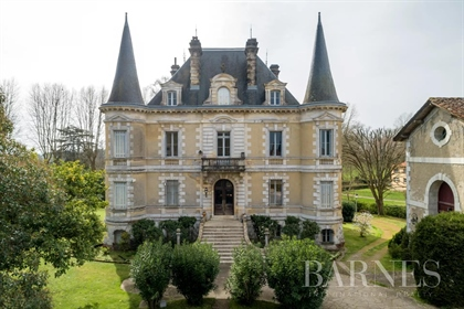 Empire Chateau With Outbuildings 45 Minutes From Biarritz