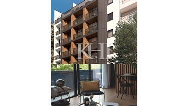 Apartamentos em construção em Lisboa