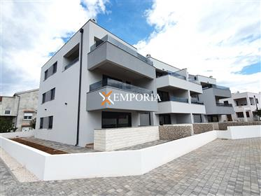 Two-Story apartment in Zaton, 140 m from the sea