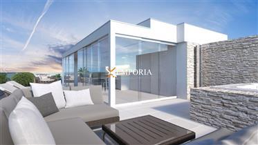 Apartman s bazenom u Bibinjama – Novogradnja